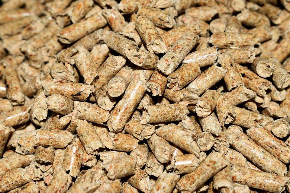 Granulés bretons : bois de chauffage