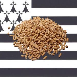 Les granulés de bois et pellets en Bretagne